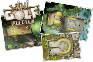 Rejoingnez Toudou et ses amis dans Mini Golf Jungle !